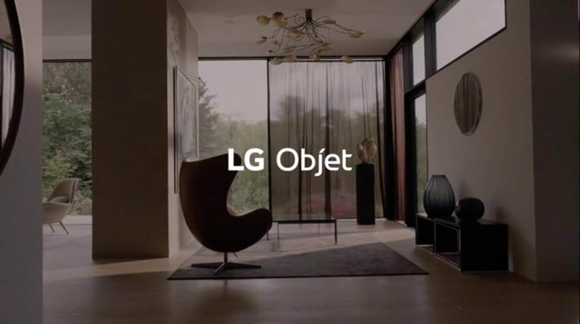 LG Objet 2019 - Lifestyle